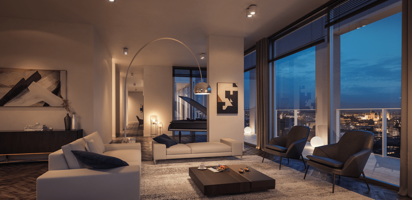 luxe penthouse te koop project the view leuven